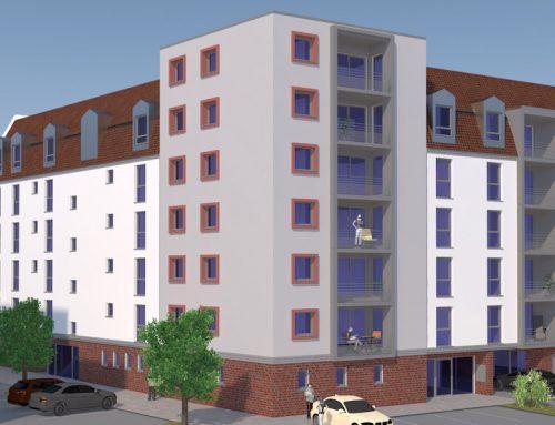 Neubau 30 Wohnungen Kaiserstraße 166